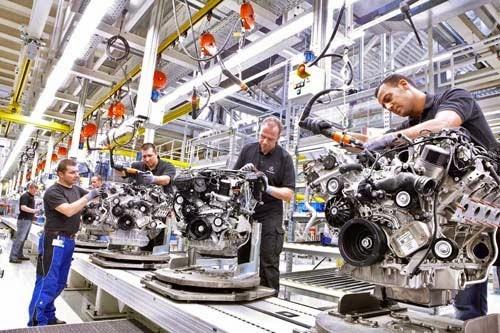 Ứng dụng của khí nén trong sản xuất công nghiệp